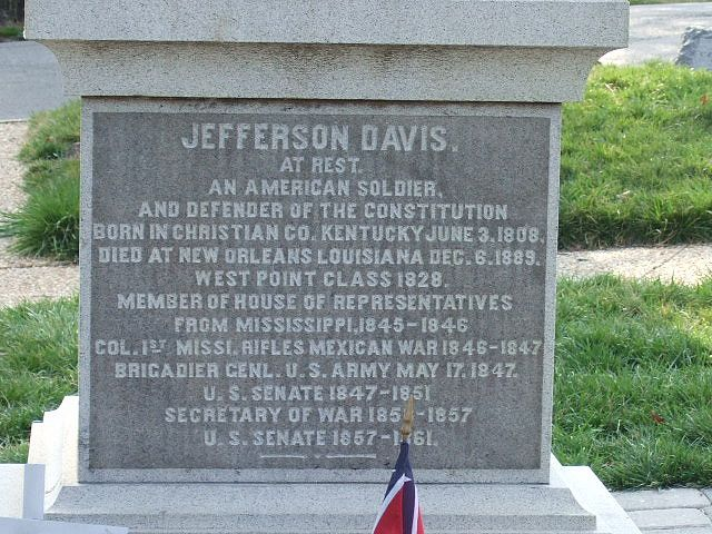 president jefferson davis family tree
