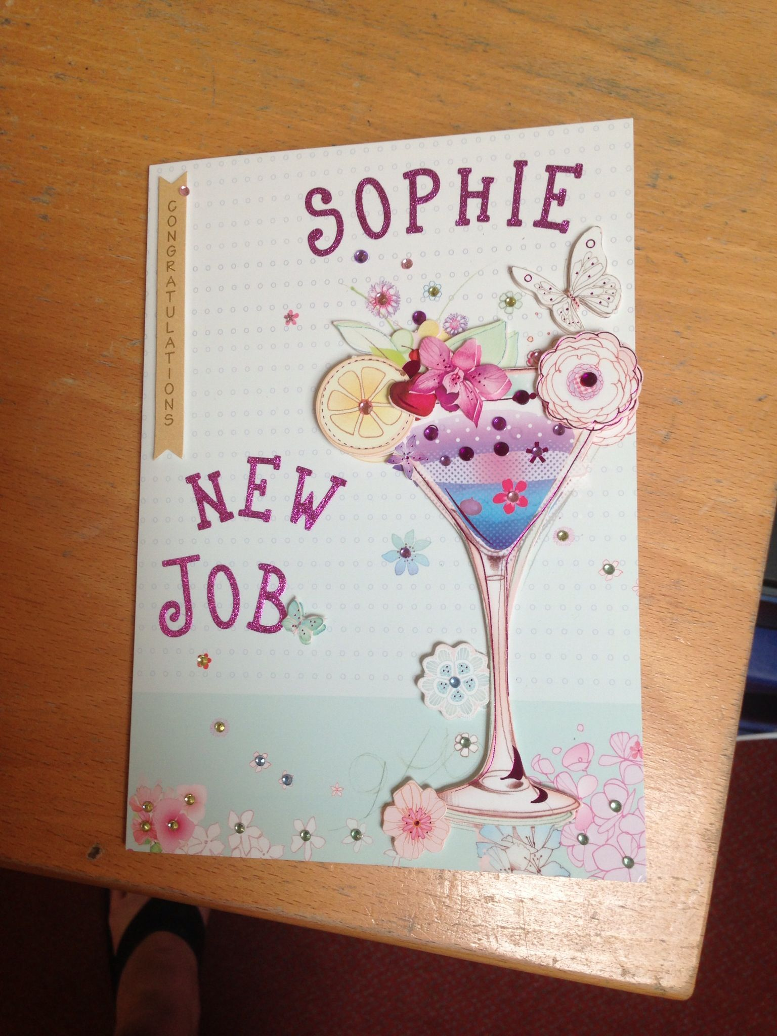 New job card my cards pinterest cards card ideas and leaving