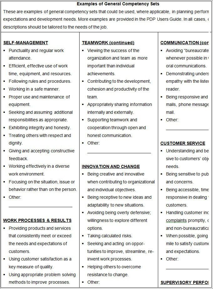 employee development plan template free premium templates