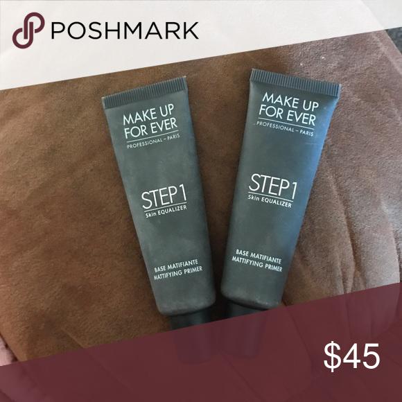 Make up forever matte primer Both full size Left one has