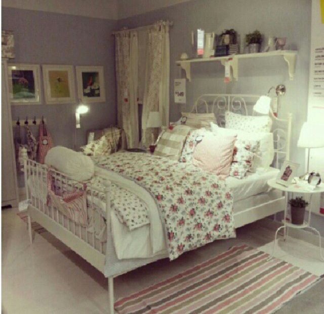 Pin by Audrey2903 on home ideas | Ikea bed, Ikea bedroom ...