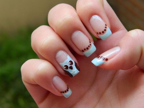 Snowman Nail Design To Make Such Nail Art Design In Response To