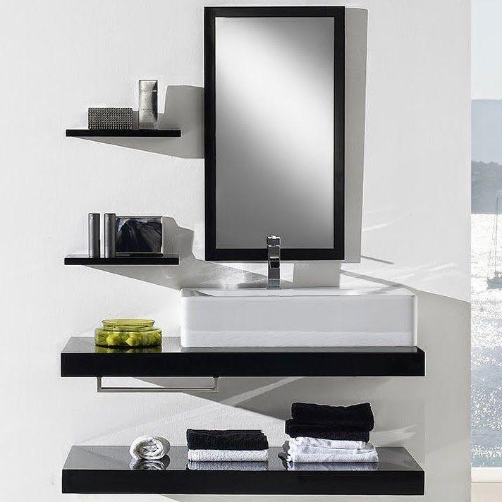 Decolife: Ideas para aprovechar el espacio del baño ...