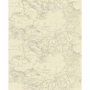 Fresco Map Wallpaper