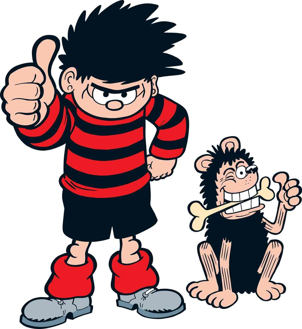 Dennis the Menace Wish I Was Book