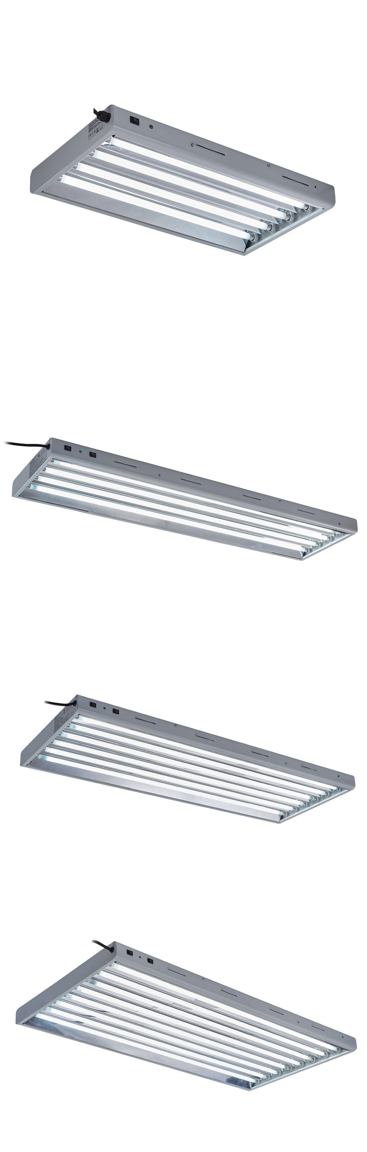 Grow Light Kits 178989 Topogrow T5 2ft 4ft Grow Light Fluorescent Lighting System W 6500k 2700k Tubes Buy It Now Only 6 Grow Light Kits 178989 Light