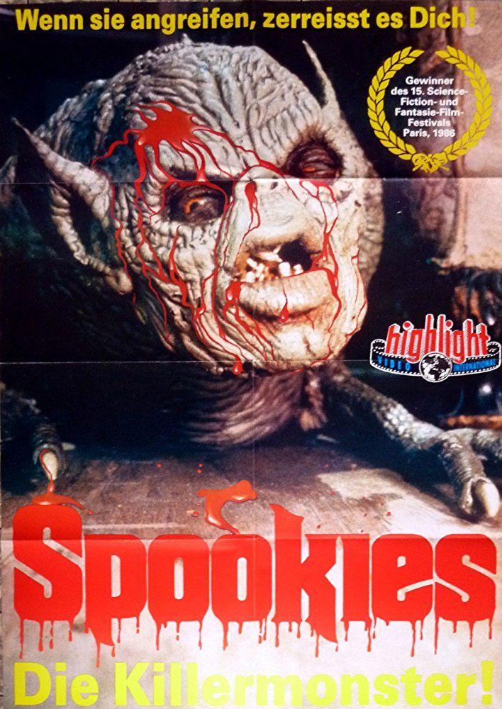 Spookies 1986 Horror Movie Posters Horror Movies Movie Art