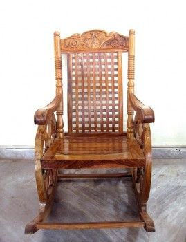 For Sale Sheesham Wood Rocking Chair More Information Please Visit Usedfurnitures