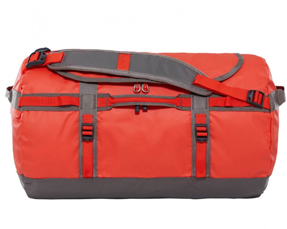 The North Face Base Camp Duffel Small Acrylic Orange Duffel The North Face Duffel Bag