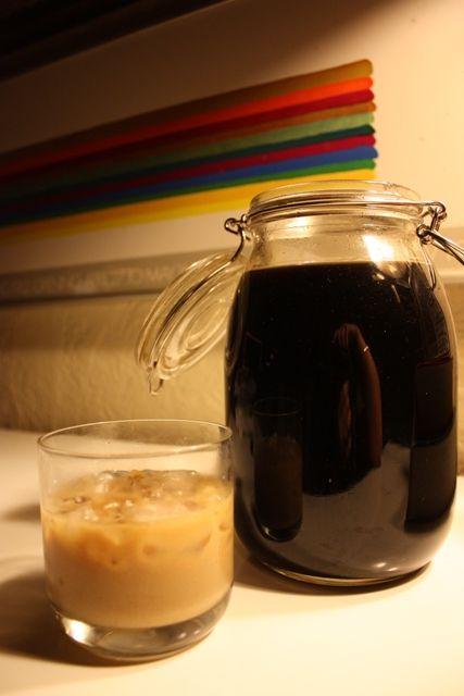 homemade coffee vanilla bean liquor (beats Kahlua any day!)