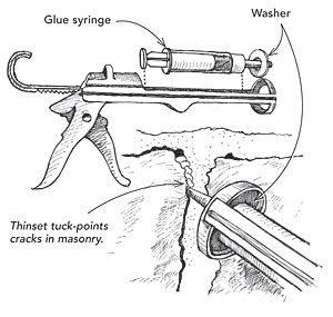 Tuck Point Tip Diy Handyman Diy Remodel