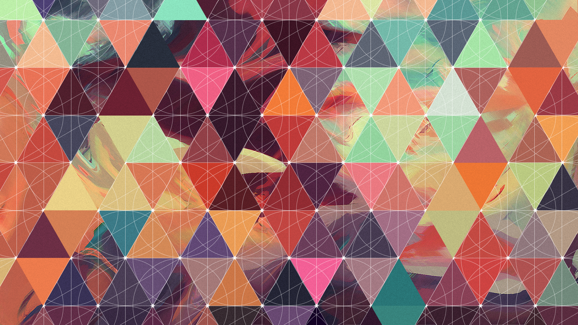 I made a geometric/abstract wallpaper today (1920x1080