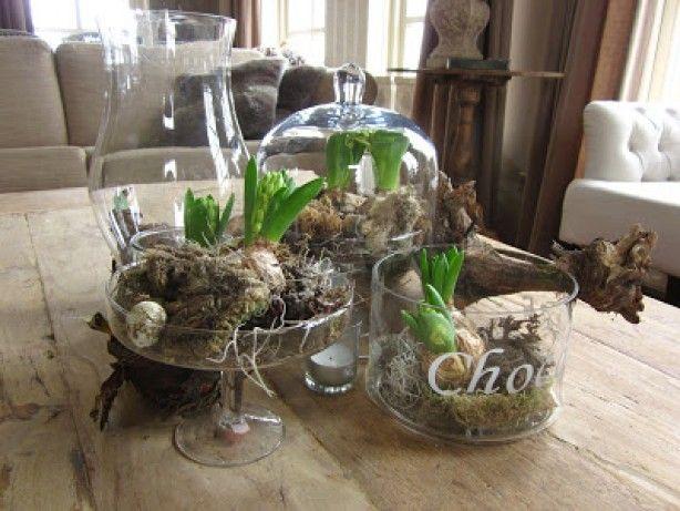 leuk op de salontafel   decoratie nieuwe huis   Pinterest   Salontafel, Pasen en Decoratie