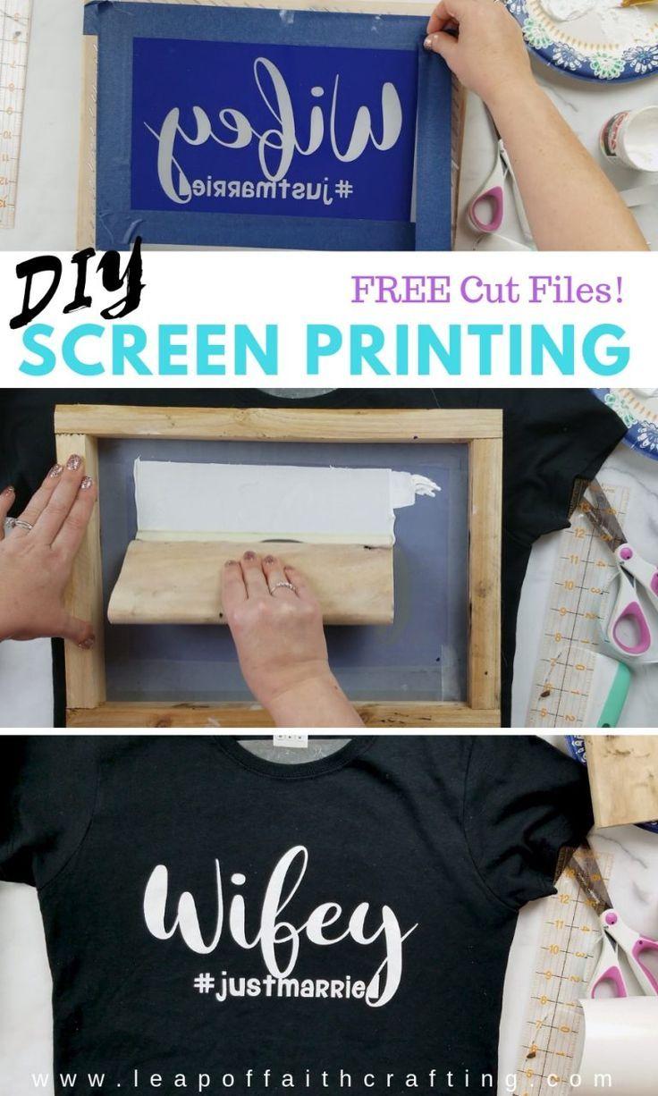 Screen Printing DIY Fabric Painting on TShirt at Home