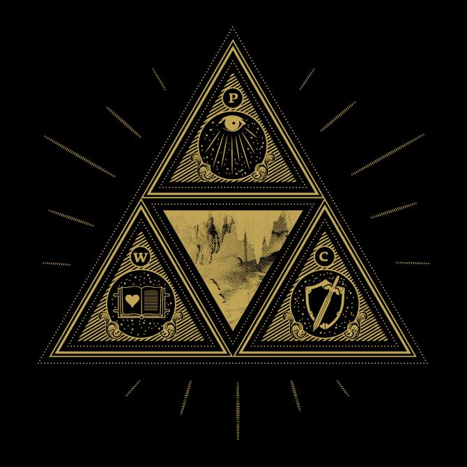 Wisdom, Courage, Power - Cory Schmitz | Legend of Zelda ...