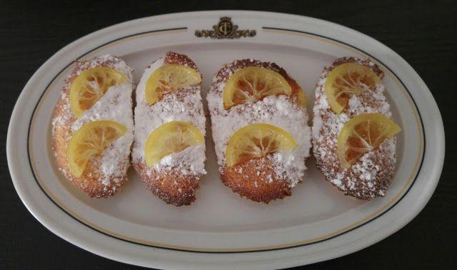 Pastelitos celestiales de limón