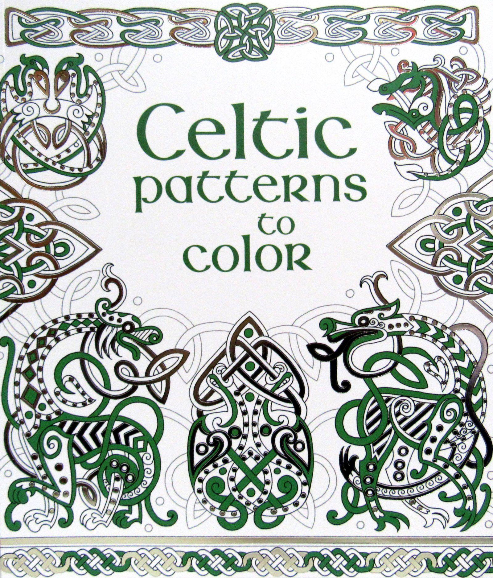 Celtic Patterns To Color Paperback