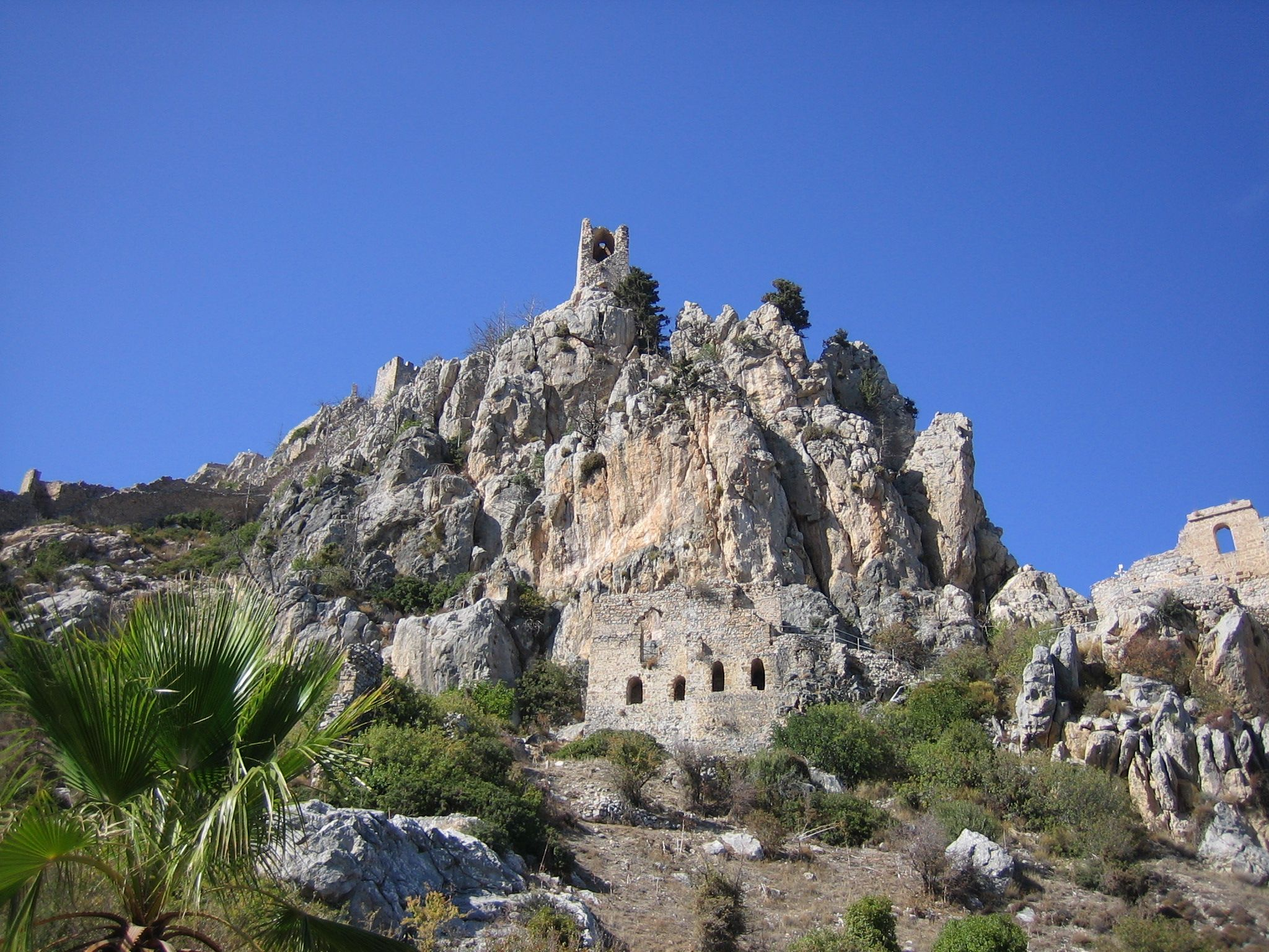 St Hilarion castle, Northern Cyprus | Places to go, Monument valley,  Natural landmarks