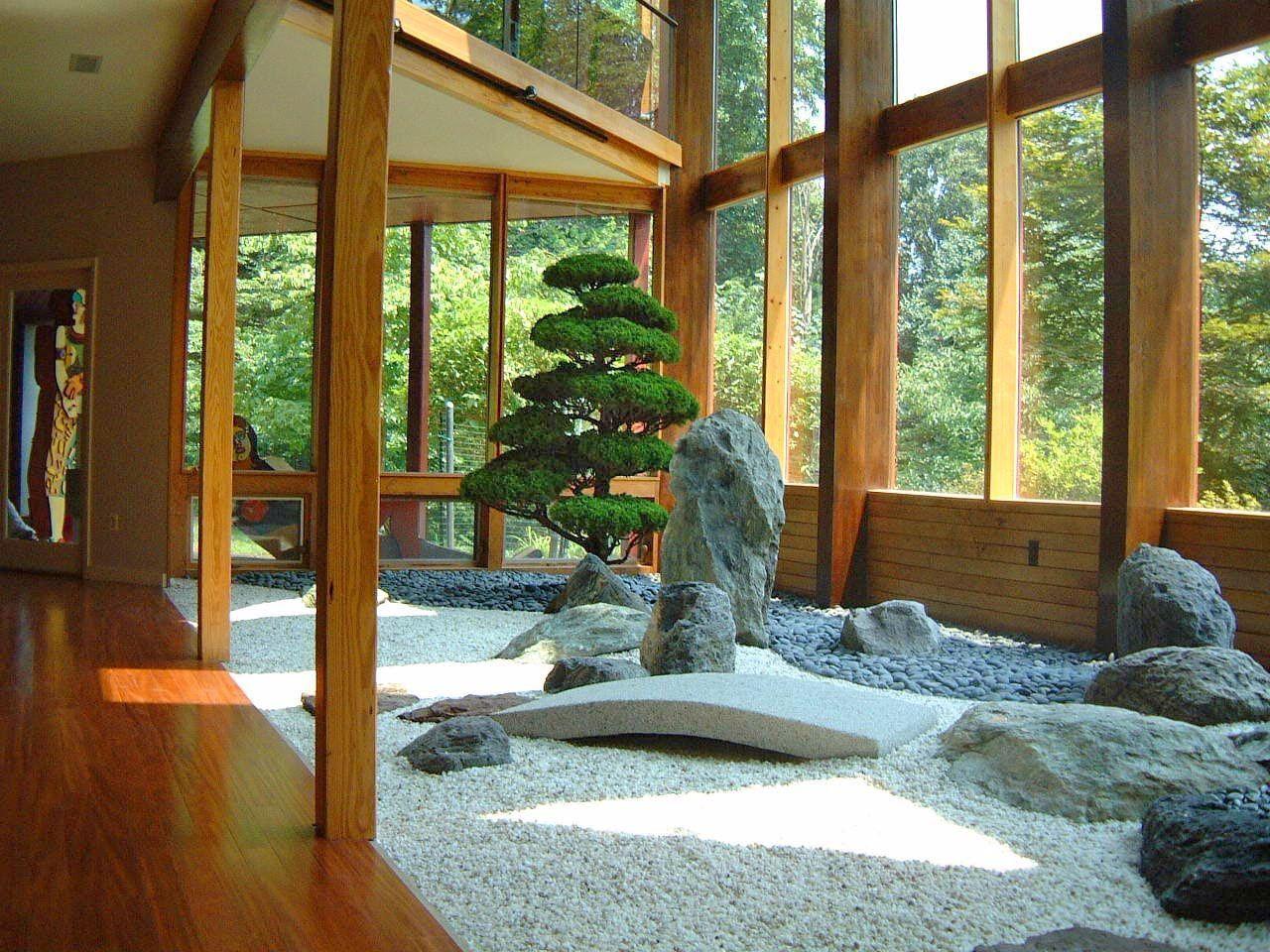 Pin Von Anchalida Tuk Auf Japanese Style Garden | Pinterest ... Garten Landschaft Gestaltung Wald