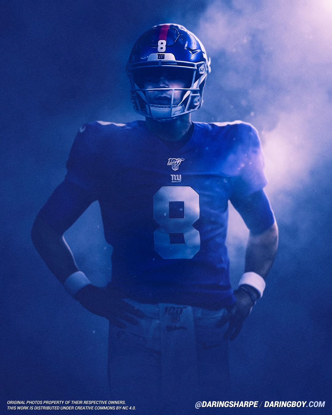 Daniel Jones New York Giants New York Giants Players Ny Giants