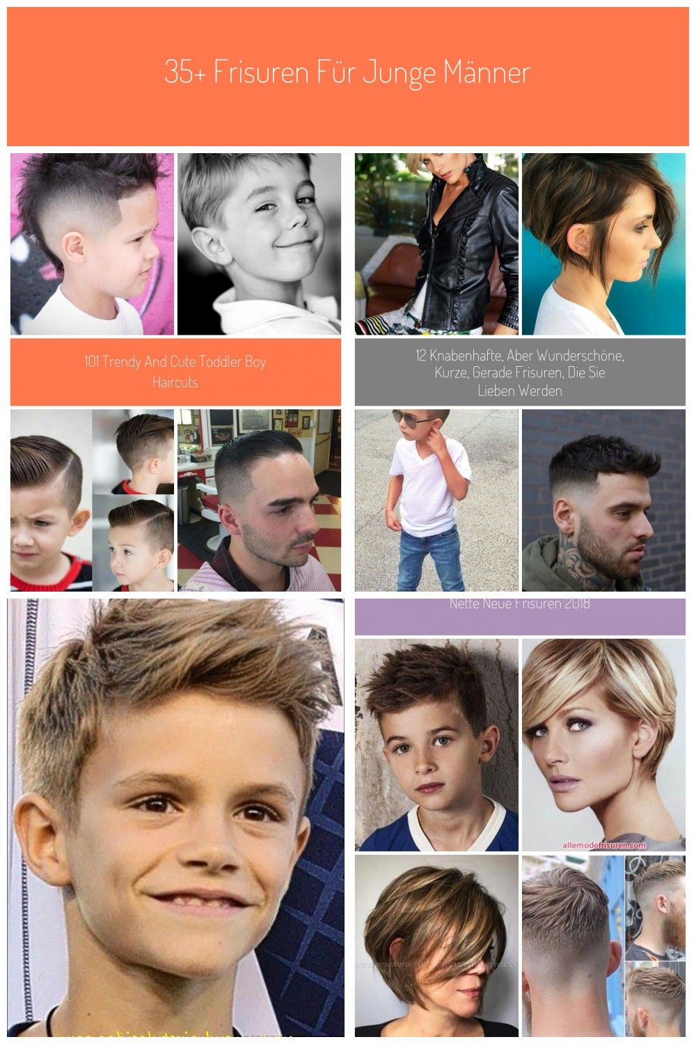 Little Boy Haircuts 12 #Kurze Haarschnitte junge 12 Trendy and