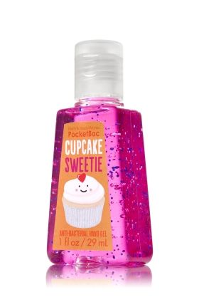 Cupcake Sweetie Pocketbac Sanitizing Hand Gel Bath Body