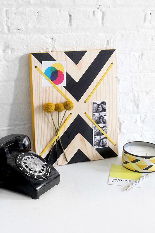 47 Fun Pinterest Crafts That Aren\u0027t Impossible Diy room decor, Fun