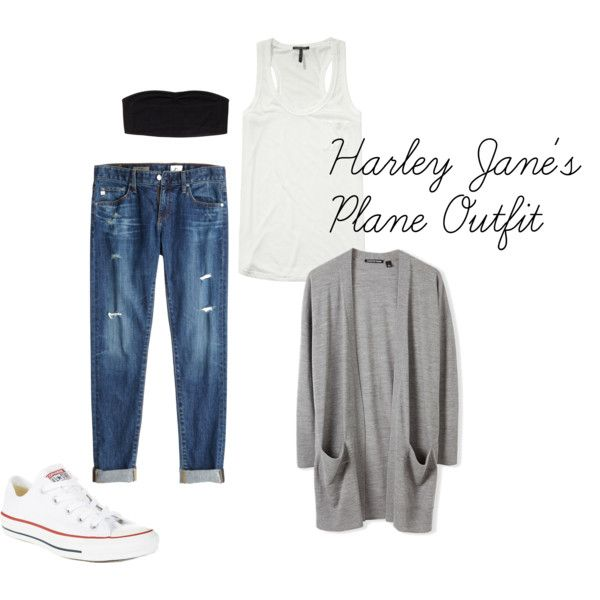 """""""Harley Jane's Plane Outfit"""" by pcdancer97 on Polyvore"""
