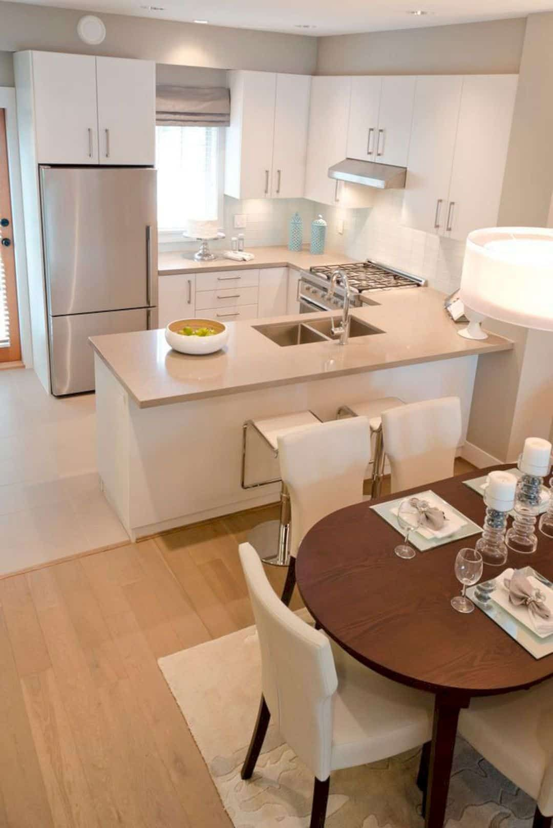 Photo of A Guide to Efficient Small Kitchen Design for Apartment