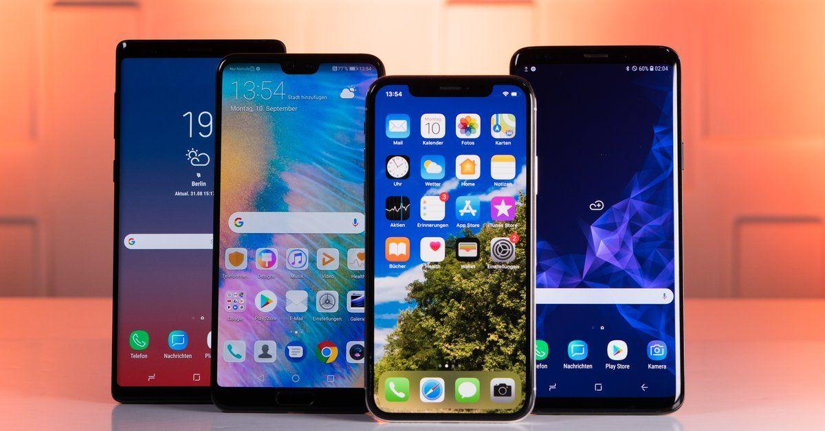 Top 10 Handys Die Aktuell Beliebtesten Smartphones In Deutschland Handys Bestes Handy Und Smartphone