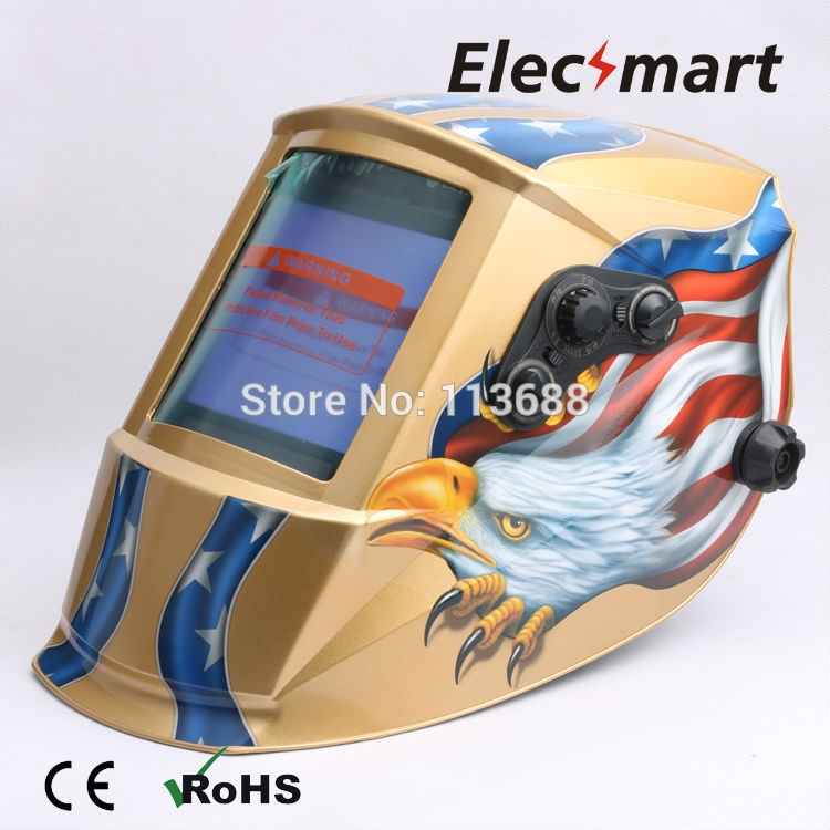 67.89$  Watch now - http://ali3zk.shopchina.info/go.php?t=32662562792 - Big View Area Auto darkening welding helmet TIG MIG MMA electric welding mask/helmet/welder cap/lens for welding 67.89$ #aliexpresschina