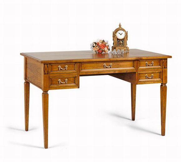 Dieser Schreibtisch von SELVA ist ein eleganter Blickfang Die - designer kommoden aus holz antike