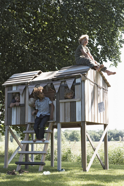 playhouse kids outdoor girl pinterest spielhaus g rten und baumhaus. Black Bedroom Furniture Sets. Home Design Ideas
