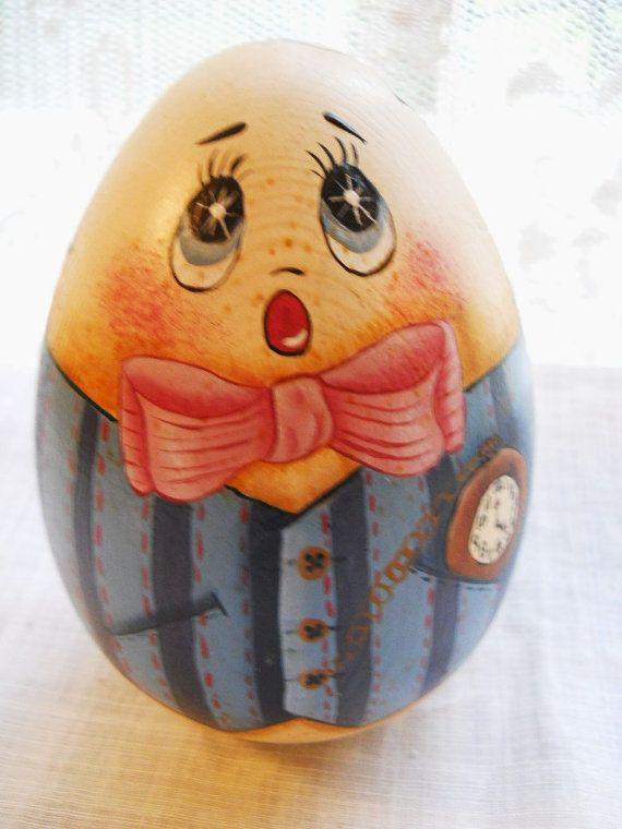 Hand Painted Humpty Dumpty Egg Google Search Egg