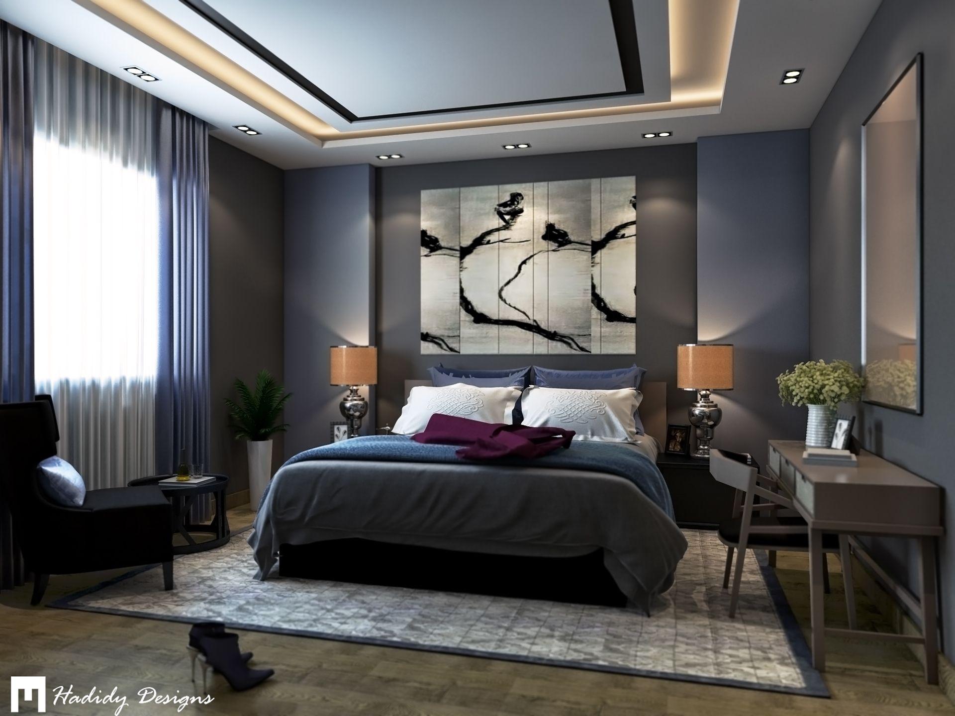 Villa Mardakan On Behance In 2021 Modern Master Bedroom Design Bedroom Interior Interior Design Bedroom