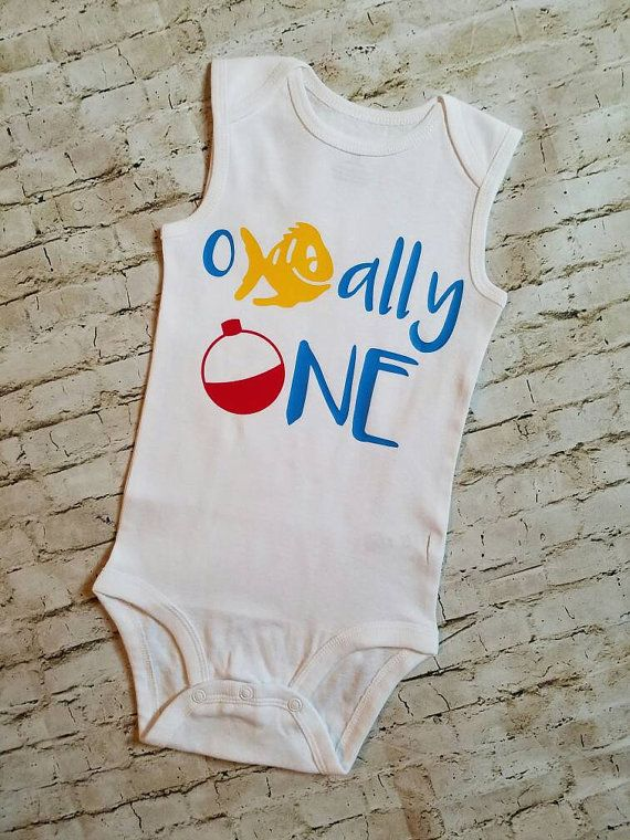 Baby Boy Clothes First Birthday Outfit One Year Old Ofishally Fishing Officially
