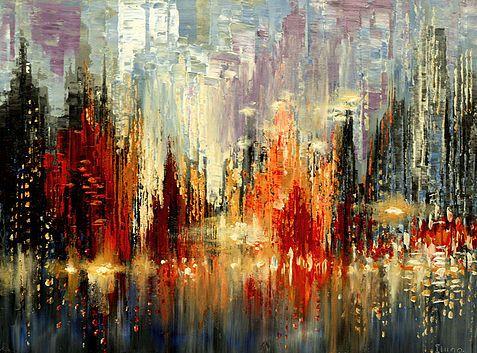 tatiana Illina | A2 art - Cityscapes and reflections | Pinterest