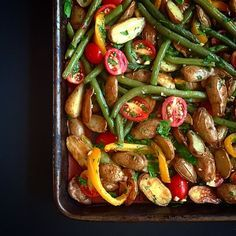 En fin de semaine dernière, j'ai posté une photo de légumes grillés sur Instagram et vous avez été nombreux à me demander la recette...