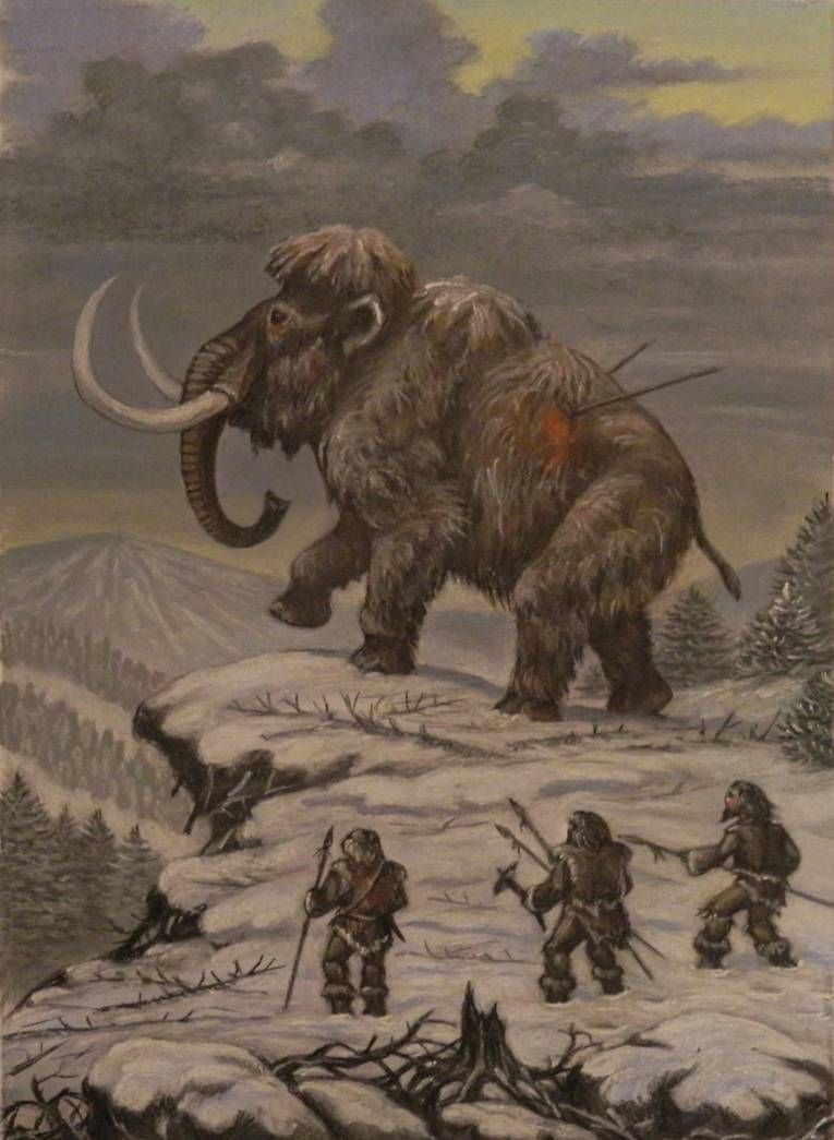 Last mammoth by ABelov2014 on DeviantArt