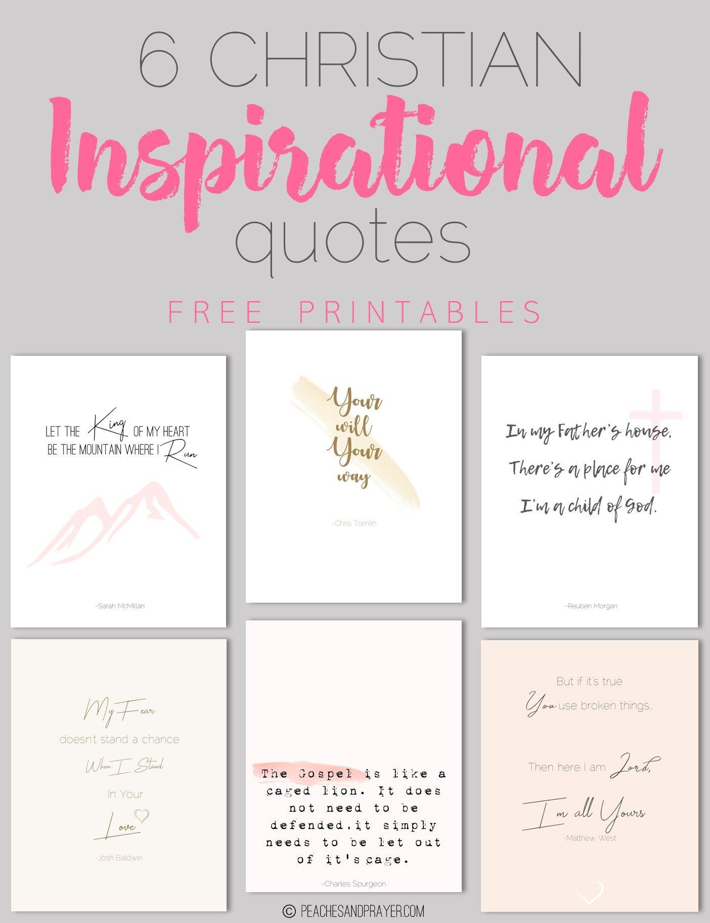 Christian Inspirational Quotes Free Printable Wall Art Quotes Christian Quotes Inspirational Printable Christian Quotes