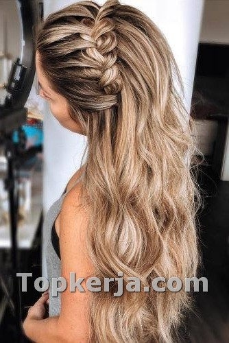 Cute Christmas Party Hairstyles Ideas For Girls Topkerja Com Braids For Long Hair Long Hair Styles Braided Hairstyles For Wedding