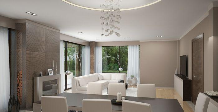Schon Wandfarben Wohnzimmer Taupe Farbe Einrichtungstipps