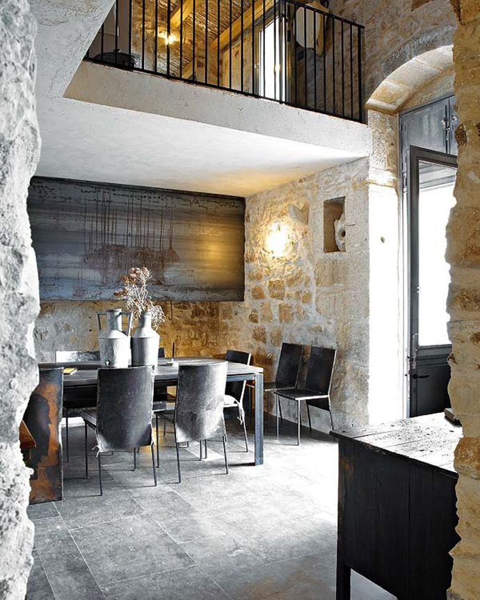 Old Sicilian House With Delicious Mix Of Styles Rustic And
