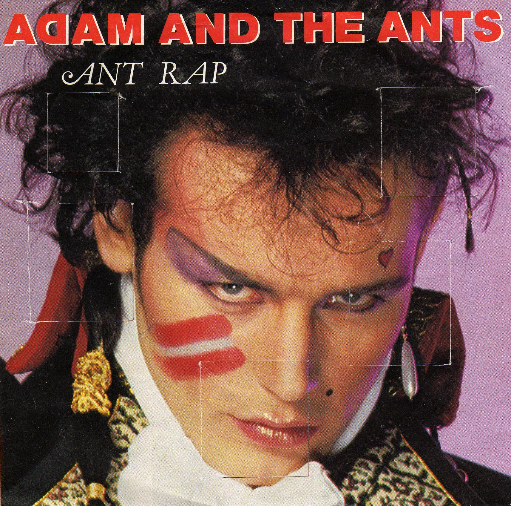 Adam and the Ants Ant music, Rap, Cool album covers