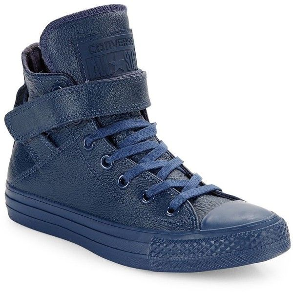 824809809bd3 Converse Brea Hi-Top Sneakers ( 75) ❤ liked on Polyvore featuring shoes