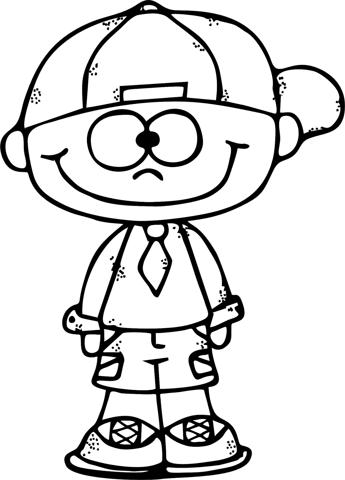 Boy 2 Bw Png 1151 1600 Clip Art Freebies Coloring Pages Art Drawings For Kids