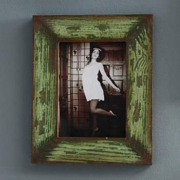 Creative Co-Op Distressed Wood Photo Frame (Set of 2) & Reviews | Wayfair