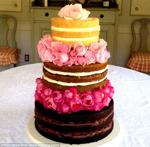 Introducing the \'naked cake\': The new unfrosted wedding dessert ...