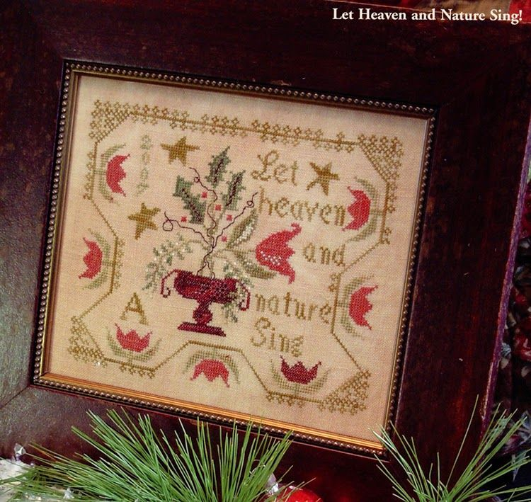 Sold Blackbird Designs With Needle And Thread 12 18 30 Shipping Included Cross Stitch Flowers Cross Stitch Samplers Cross Stitch Patterns Christmas