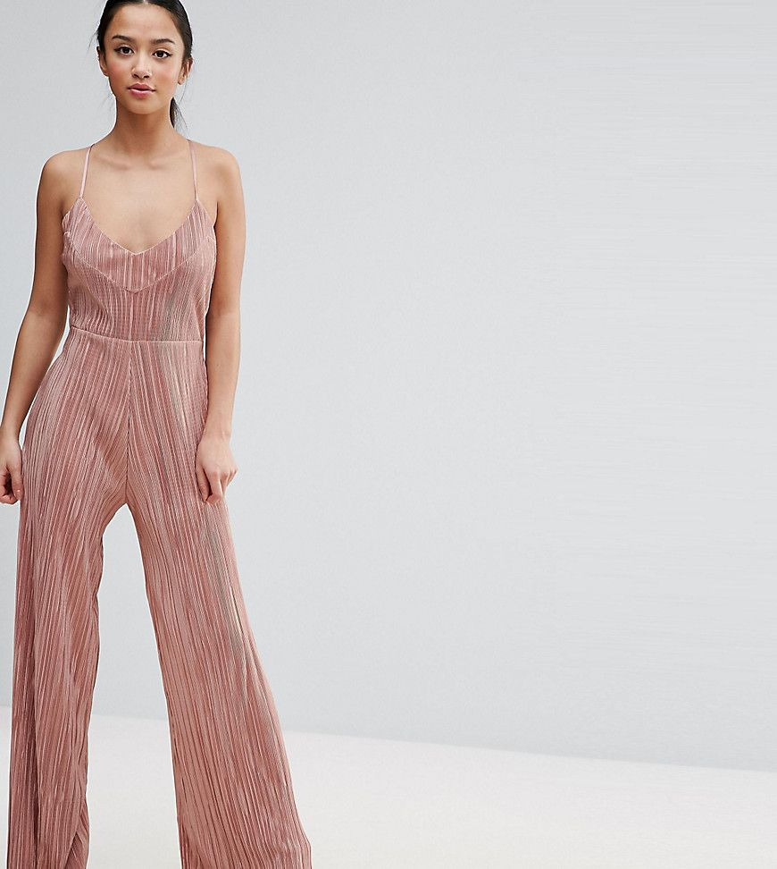 6bdeb6cd385c Get this Asos Petite s long jumpsuit now! Click for more details. Worldwide  shipping.